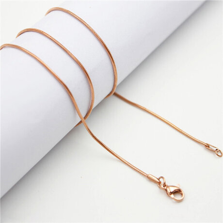 Верижка Slim Rose Gold M